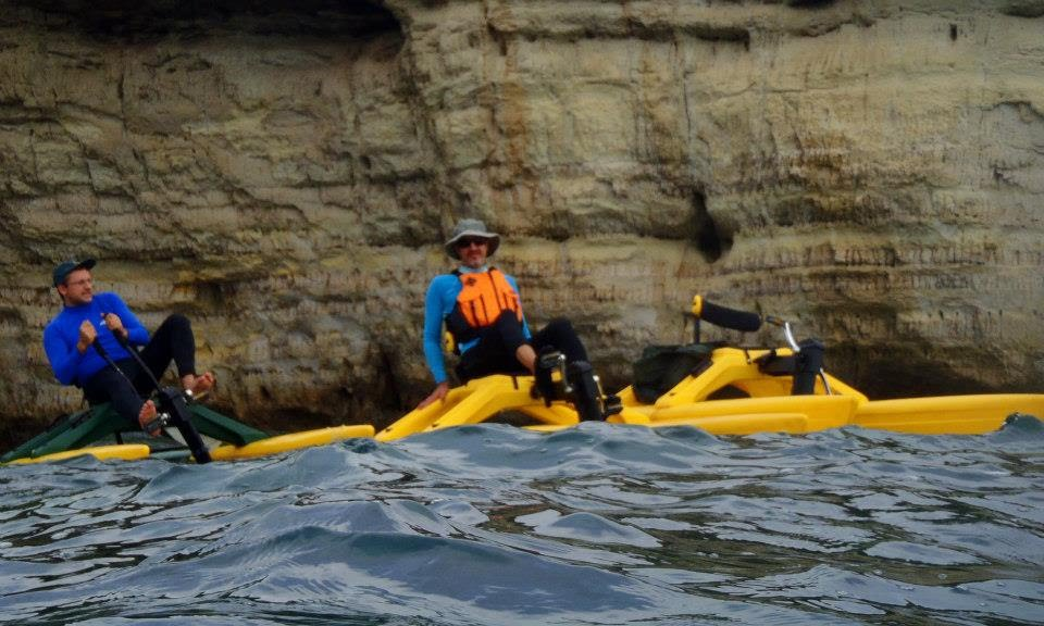 Waterbiking at Cape Greko Sea Caves